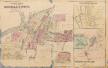 1875 Middletown Map