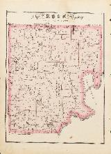 1875 Ross Township Map