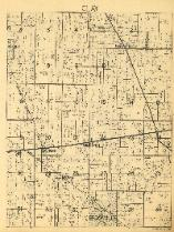 1938 Map of Clay Township
