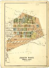 Map of Xenia Fourth Ward