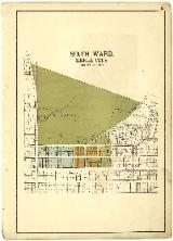 Map of Xenia Sixth Ward