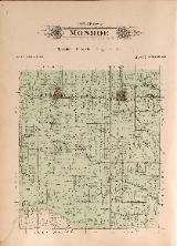 1912 Map of Monroe Township