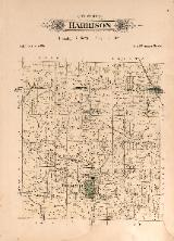 1912 Map of Harrison Township