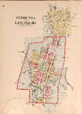 1912 Map of Euphemia & Lewisburg
