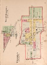 1912 Map of Verona & West Sonora