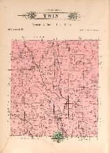 1912 Map of Twin Township