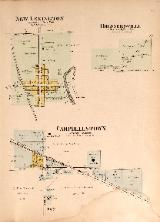 1912 Map of Brennersville, Campbellstown & New lexington