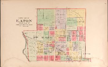 1912 Map of Eaton - North