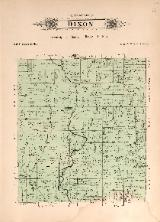 1912 Map of Dixon Township