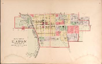 1912 Map of Eaton - South