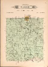 1912 Map of Lanier Township