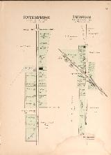 1912 Map of Enterprise & Ingomar