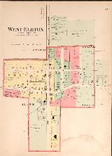 1912 Map of West Elkton