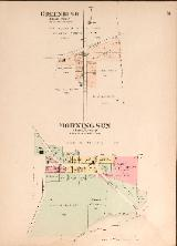 1912 Map of Greenbush & Morning Sun